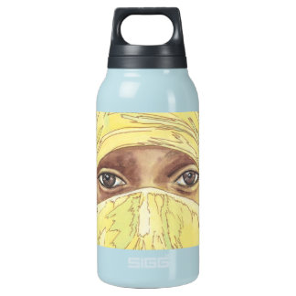 Dark Eyes/Ociy cernye Insulated Water Bottle
