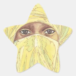 Dark Eyes/Ociy cernye Star Sticker