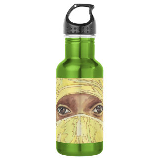Dark Eyes/Ociy cernye Water Bottle