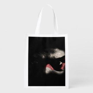 Dark Eyes Reusable Grocery Bag