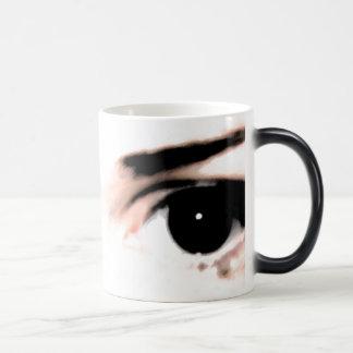 Dark eyes will appear magic mug