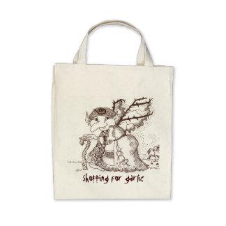 Dark Faerie Baba Canvas Bags