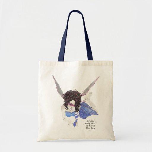 dark faerie tote bag