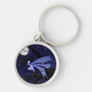 Dark Fairy Night Keychain
