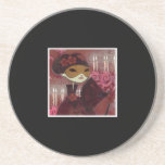 Dark Fairy Tale Character 10 - Masked Lady Drink Coasters