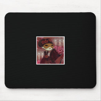 Dark Fairy Tale Character 10 - Masked Lady Mouse Pad