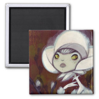 Dark Fairy Tale Character 11 2 Inch Square Magnet