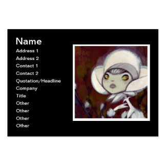 Dark Fairy Tale Character 11 Large Business Cards (Pack Of 100)