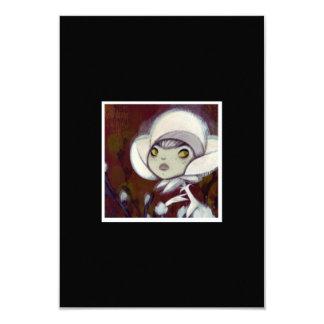 Dark Fairy Tale Character 11 3.5x5 Paper Invitation Card