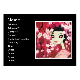 Dark Fairy Tale Character 12 Large Business Cards (Pack Of 100)