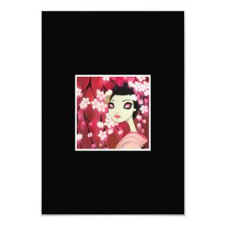 Dark Fairy Tale Character 12 3.5x5 Paper Invitation Card