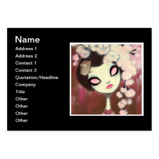 Dark Fairy Tale Character 13 Large Business Cards (Pack Of 100)