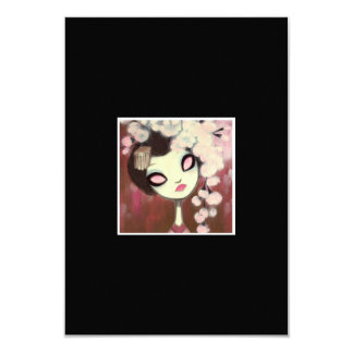 Dark Fairy Tale Character 13 3.5x5 Paper Invitation Card