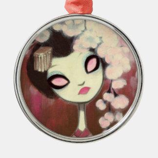 Dark Fairy Tale Character 13 Metal Ornament