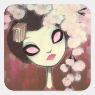 Dark Fairy Tale Character 13 Square Sticker