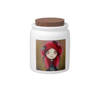 Dark Fairy Tale Character 14 Candy Jar