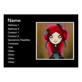 Dark Fairy Tale Character 14 Large Business Card