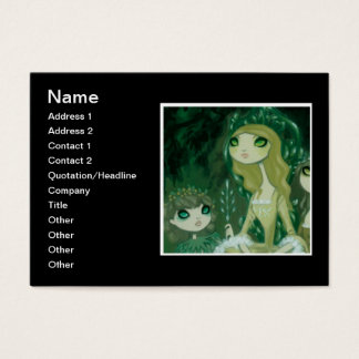 Dark Fairy Tale Character 15 Business Card