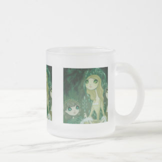 Dark Fairy Tale Character 15 Frosted Glass Coffee Mug