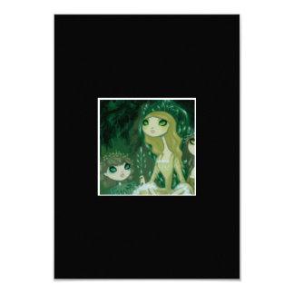 Dark Fairy Tale Character 15 3.5x5 Paper Invitation Card
