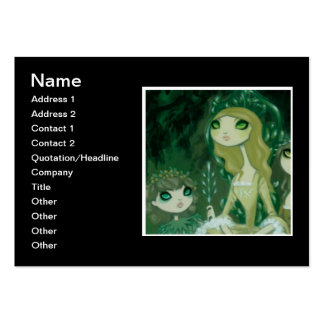 Dark Fairy Tale Character 15 Large Business Card