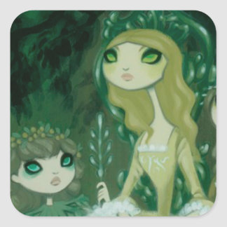 Dark Fairy Tale Character 15 Stickers