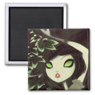 Dark Fairy Tale Character 16 2 Inch Square Magnet