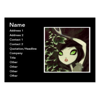 Dark Fairy Tale Character 16 Large Business Cards (Pack Of 100)