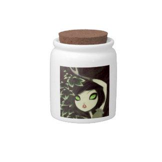 Dark Fairy Tale Character 16 Candy Jars