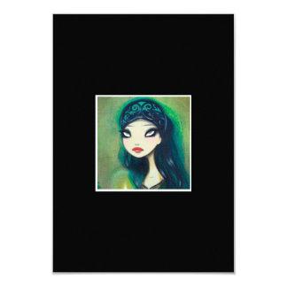 Dark Fairy Tale Character 17 3.5x5 Paper Invitation Card
