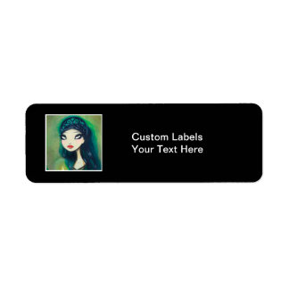 Dark Fairy Tale Character 17 Label