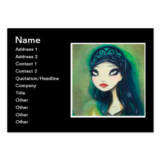 Dark Fairy Tale Character 17 Large Business Card