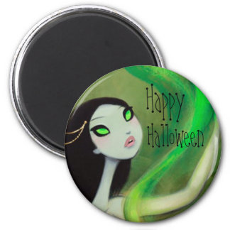 DARK FAIRY TALE CHARACTER 18 HAPPY HALLOWEEN 2 INCH ROUND MAGNET