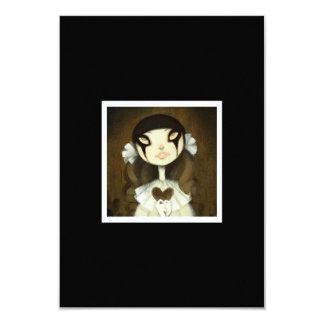 Dark Fairy Tale Character 1 3.5x5 Paper Invitation Card