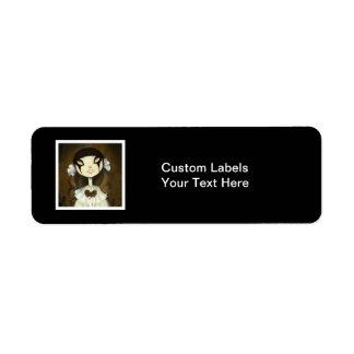Dark Fairy Tale Character 1 Label