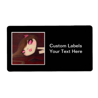 DARK FAIRY TALE CHARACTER 21 SHIPPING LABEL