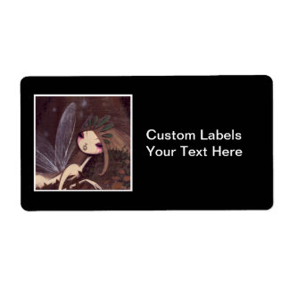 DARK FAIRY TALE CHARACTER 28 SHIPPING LABEL