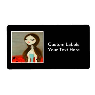 DARK FAIRY TALE CHARACTER 29 SHIPPING LABEL