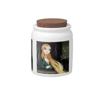 Dark Fairy Tale Character 2 - Rapunzel Candy Jars