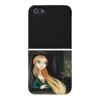 Dark Fairy Tale Character 2 - Rapunzel iPhone 5 Cases