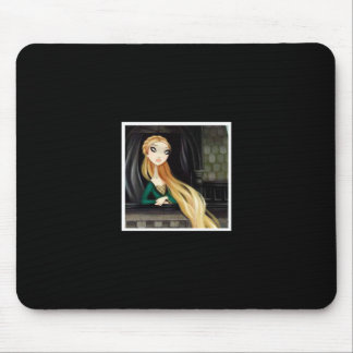 Dark Fairy Tale Character 2 - Rapunzel Mouse Pad