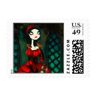 DARK FAIRY TALE CHARACTER 31 POSTAGE STAMP