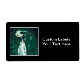 DARK FAIRY TALE CHARACTER 32 SHIPPING LABEL