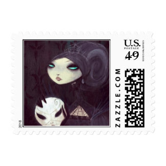 DARK FAIRY TALE CHARACTER 35 POSTAGE STAMP