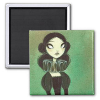 Dark Fairy Tale Character 3 2 Inch Square Magnet