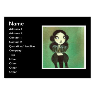 Dark Fairy Tale Character 3 Large Business Cards (Pack Of 100)