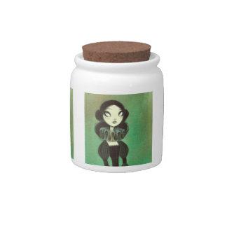 Dark Fairy Tale Character 3 Candy Jar