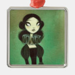 Dark Fairy Tale Character 3 Christmas Ornaments