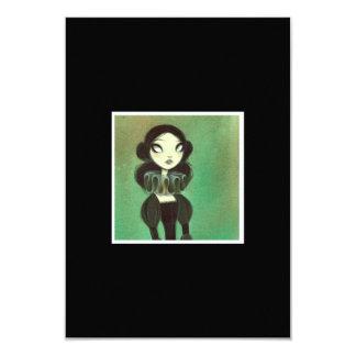 Dark Fairy Tale Character 3 3.5x5 Paper Invitation Card