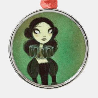 Dark Fairy Tale Character 3 Metal Ornament